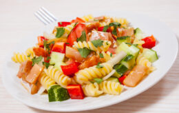 Salmon Pasta Salad Recipe