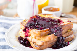 Blueberry Sauce Recipe | Use this on Ice Cream, French Toast and more!