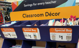 Hey Teachers! $1.00 Classroom Decor at Walmart Right Now!