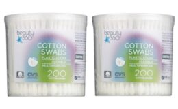 CVS SHOPPERS! Free Beauty 360 Cotton Swabs 200 ct. (Clip Coupon 7/9 Only, Check your CVS App!)