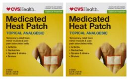 CVS SHOPPERS! Free CVS Health Capsaisin Heat Patch (Clip Coupon 7/12 Only, Check your CVS App!)