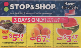 Stop & Shop Preview Ad for 7/3 Is Here!