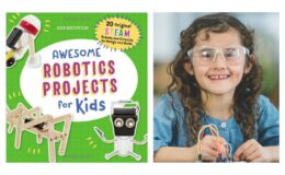 59% off Awesome Robotics Projects for Kids: 20 Original STEAM Robots and Circuits to Design and Build Book {Amazon}