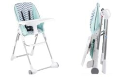 Evenflo Symmetry Flat Fold High Chair only $41.86 Shipped (reg. $66.20) at Walmart