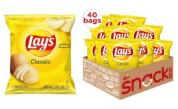 Nice Price! Lay's Classic Potato Chips, 1 oz (Pack of 40) {Amazon}