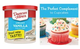 Stock Up Price! Duncan Hines Creamy Vanilla Frosting, 16 oz Cans (Pack of 8)