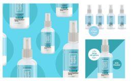 Hello Bello Hand Sanitizer Spray, Unscented, 4oz - 4PK just $9.97 (reg. $11.97) at Walmart