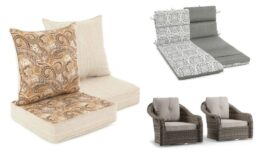 Great Prices on Patio Cushions & Pillows on Clearance at Big Lots!