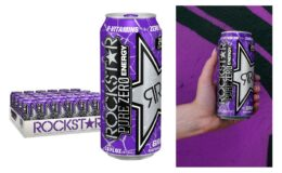Great Price! Rockstar Energy Drink Pure Zero, Grape, 24 Count {Amazon}