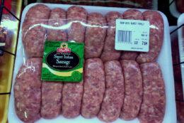 ShopRite Brand Italian Sausage Just $1.79 per pound!