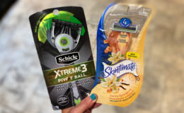 Save Up To $11 on Schick Razors - $0.81 at Target + More Great Deals