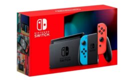 Back in Stock! Nintendo - Switch 32GB Console - Neon Red/Neon Blue Joy-Con $299.99 Shipped at Best Buy!