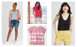 Women's Tees & Tanks only $5 at Target! (reg.$8)