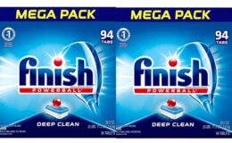 Super Deal on 282-Ct Finish Powerball Dishwasher Detergent Tablets on Amazon!