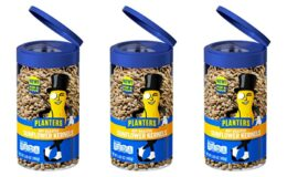 Planters  Pop & Pour Peanuts or Sunflower Kernels Just $0.99  at ShopRite!