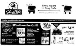 ShopRite Preview Ad for the week of 8/16/20
