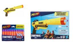 Buy 2 Get 1 Free Select NERF at Target! NERF Fortnite SP-L Elite Dart Blaster 3 for $30.78 (Reg. $19.99 each)