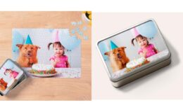"Walgreens Photo: 75% Off 252-Piece 10""x14"" Custom Photo Puzzle w/ Storage Tin $10.50 + Free Store Pickup"