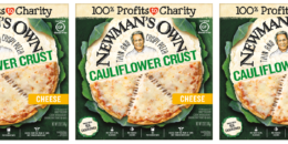 Save $1.50 on Newman's Own Cauliflower Crust Thin & Crispy Pizza & Deals