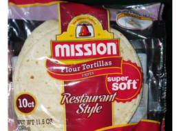 Mission Restaurant Style Flour Tortillas as Low as $0.59 at ShopRite!