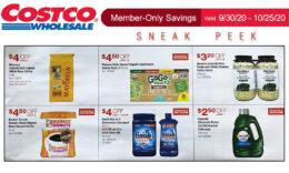 Costco Sneak Peek - Members Only Savings 9/30 - 10/25/20
