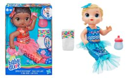 Baby Alive Shimmer n Splash Mermaid Baby Doll only $10 at Walmart! (reg. $19.99)