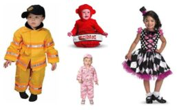 Cute Kid's Halloween Costumes as low as $5 at Plushible!