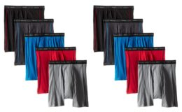 46% Off Hanes Men's 5-Pack Sports-Inspired Cool Dri Boxer Brief {Amazon}