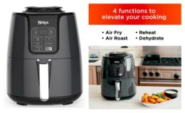 Ninja 4-Quart Air Fryer, AF100 only $69 Shipped at Walmart! (reg. $109)