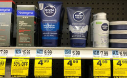 4 FREE Nivea Men Face Wash at Rite Aid {Ibotta Rebate}
