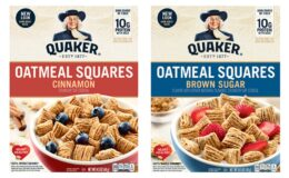 Quaker Oatmeal Squares Cereal Just $0.49 at Acme!