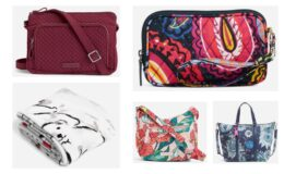 Extra 30% Already Reduced Prices at Vera Bradley Outlet! RFID Little Hipster $22.40 (Reg. $80)