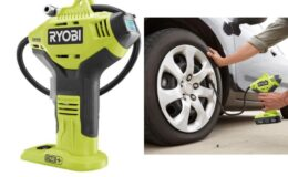 18-Volt ONE+ Lithium-Ion Cordless High Pressure Inflator with Digital Gauge $19.97 (Reg. $36.97)
