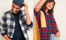 Today Only! Old Navy Flannels for the Family $8-$10