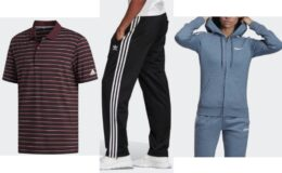 Extra 30% off adidas + Free Shipping! Pants just $15!