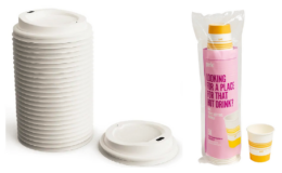 Perk Paper Hot Cups 8 oz 50/Pack $3.45 (Reg. $4.31) & Lids 50/Pack $1.25 (Reg. $3.59) + Free Shipping at Staples!