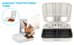 Premier Pet Automatic Timer Pet Feeder just $16.98 (reg. $22.98) at Walmart!