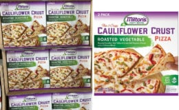 Costco:  Hot Deal on Milton's Roasted Vegetable Cauliflower Crust Pizza - $3.00 off!