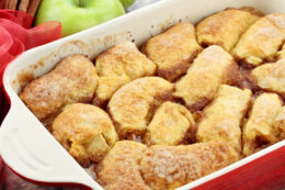 Syrupy Apple Dumplings