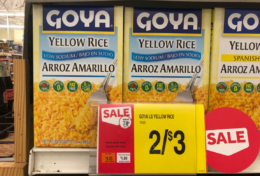 Back Again! Goya Low Sodium Yellow Rice just $0.50 at Stop & Shop