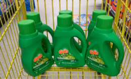 New $5/$25 Dollar General Coupon - Gain Laundry Detergent for Just $0.17 + More! {10/24 Only}