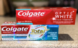 2 FREE Colgate Total and Optic White Toothpastes at CVS!