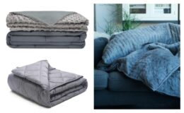 Hefty Weighted Blanket only $19.99 Shipped from Walmart!