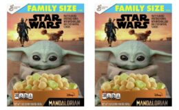 FREE Star Wars The Mandalorian Family Size Cereal at Walmart {Ibotta Rebate}