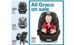 Super Graco Sale at Target |$100 Off Graco 4Ever or Grows4Me Car Seats