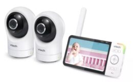 "VTech Digital Video Monitor with Remote Access and 2 Cameras 5"" $84.99 (Reg. $169.99)"
