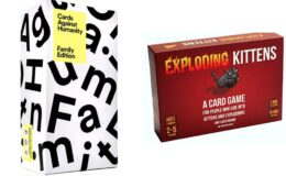 Up to 59% Off on Games from Exploding Kittens, Cards Against Humanity and More