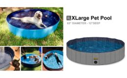Chewy Black Friday Deal! KOPEKS Outdoor Portable Dog Swimming Pool $32.99 (Reg. $79.99)