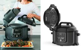 Hot Price! $130 Off Ninja Foodi 9-in-1 Pressure, Broil, Slow Cooker, Air Fryer, and More, 6.5 Quart