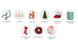$10 off $50 Purchase of Holiday Trees, Lights, Wrap, Décor and More at Target!